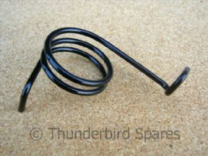 Front Brake Lever Spring, Triumph Twins all, 1945-1967, 37-0592, W592